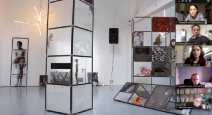 French art scene – artist/curator talk with E. Z. Kala and C. Chenais - Online Visual Arts Focus
