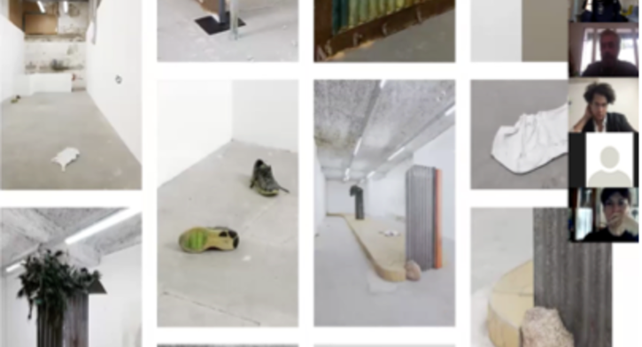 French art scene – curator/artist talk with Cédric Fauq and Wilfrid Almendra - Visual Arts FOCUS