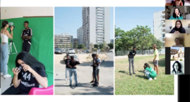 French art scene – curator/artist talk with Céline Kopp and Sara Sadik - Online Visual Arts FOCUS