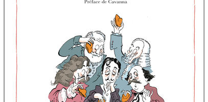 "My Men of Letters (""Mes hommes de lettres""), by Catherine Meurisse"