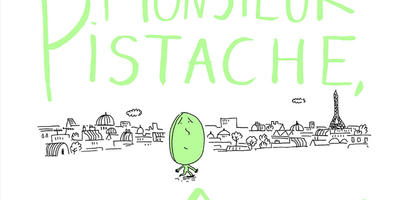 "Stop, Mr Pistachio! (""Monsieur Pistache, arrêtez !"") by Julien Baer and Magali le Huche"