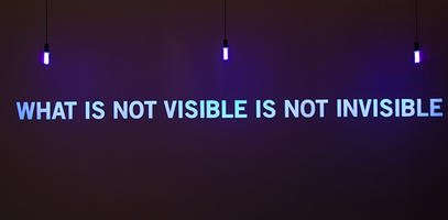 What is not visible is not invisible, by Julien Discrit